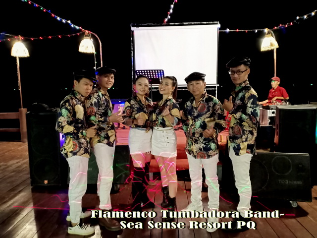 Ban nhạc Flamenco Tumbadora  Countdown Party 2019  Resort Sea Sense Phú Quốc 001