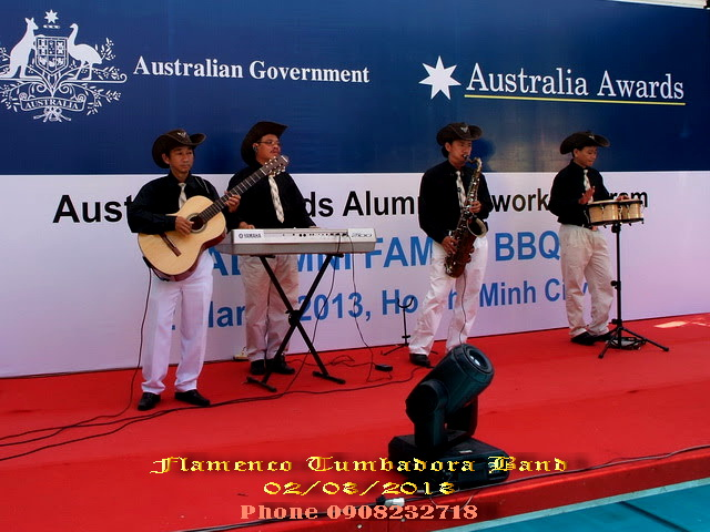 Ban Nhac Flamenco Tumbadora 02 03 2013 Australian Government Australia Awards