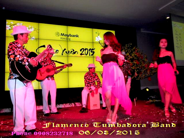 Ban Nhac Flamenco Tumbadora 06 03 2015 Kim Eng May Bank Tan Nien 2015