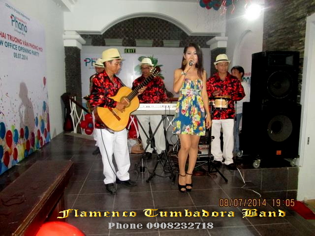 Ban Nhac Flamenco Tumbadora 08 07 2014 Khai Truong Phano Pharma Head Office