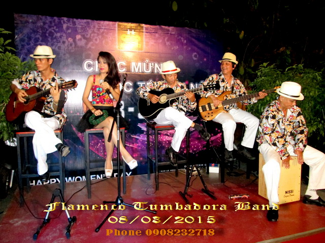 Flamenco Tumbadora Band 08 03 2015 Doho Beer Garden