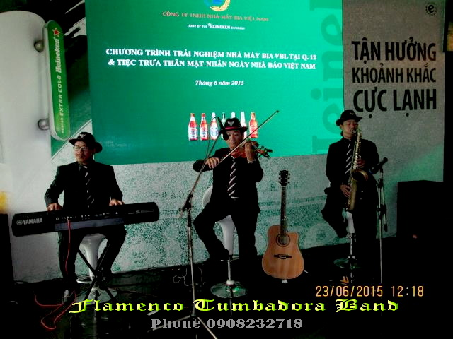 Flamenco Tumbadora Band 23 06 2015 Heineken Happy Hour