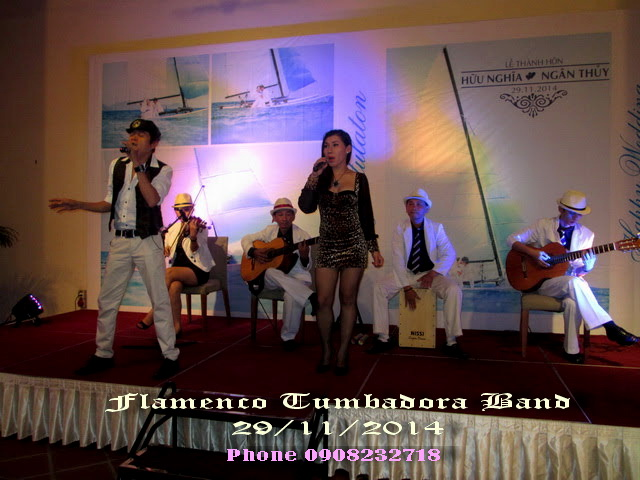Flamenco Tumbadora Band 29 11 2014 Park Royal Hotel
