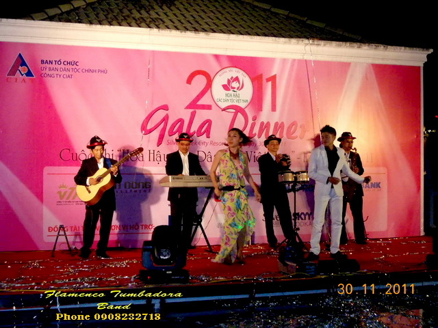 Gala Miss Vn Flamenco Tumbadora band 30 11 2011 Silver Creek Resort