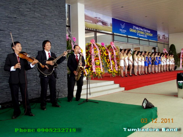Tumbadora Semi Classic Band 03 12 2011 Khanh Thanh San Golf Phu My