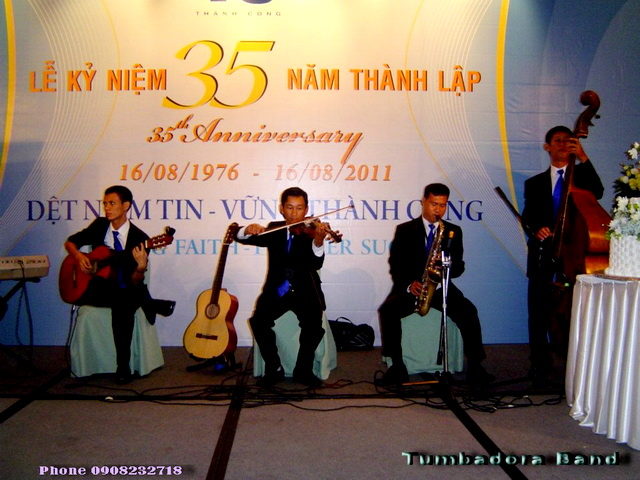 Tumbadora Semi Classic Band 16 08 2011 Det Thanh Cong 35th Anniversary