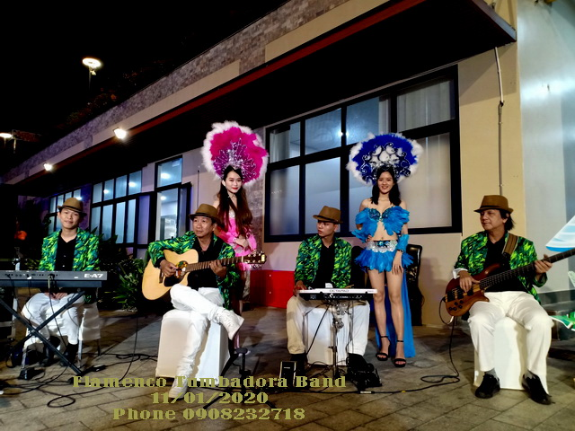 Flamenco Hawaii Tumbadora Band Year End Party Viet Bank Marina Bay Vung Tau 004