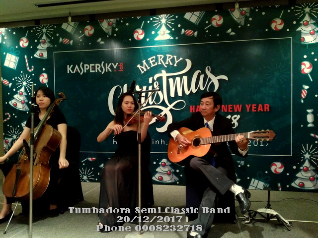 Tumbadora Semi Classic 20 12 2017 Kaspersky Christmas Party Legend Hotel