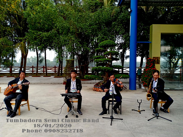 Tumbadora Semi Classic Band Happy Land Grand Opening 002