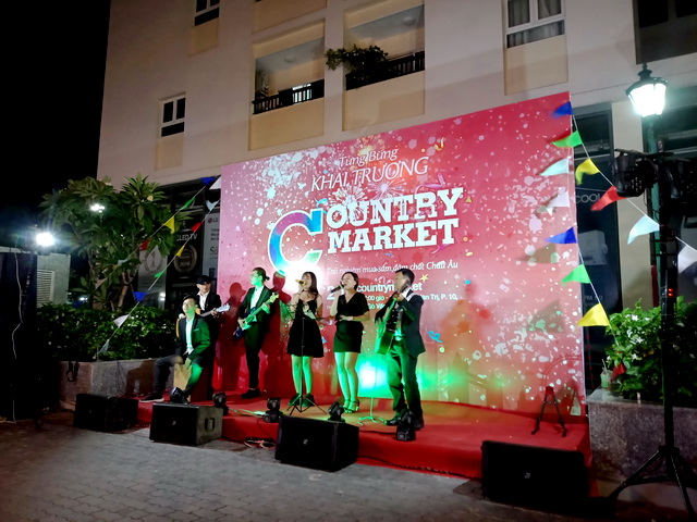 country market acoustic Tumbadora Band