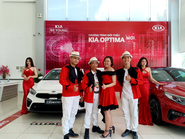 Kia Gò Vấp Showroom Tumbadora Band